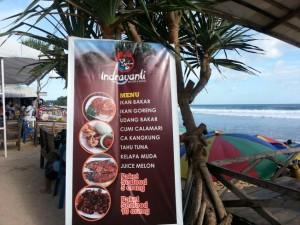 Menu di Resto Indrayanti