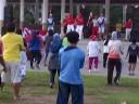 Senam Pagi di Lapangan Merdeka