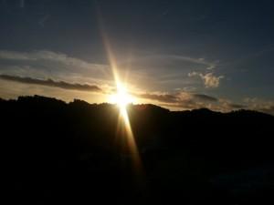 sunrise di Pantai Indrayanti