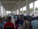 Antrean Taksi di KNIA