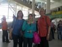 Tiba di Bandara Kuala Namu Internasional Airport (KNIA) Medan