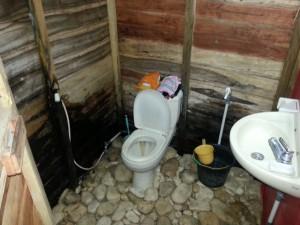 Toilet di dalam Omah Suket