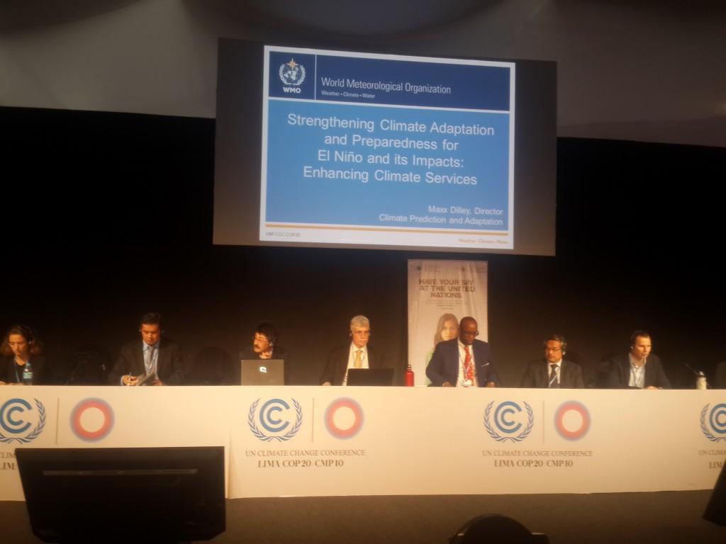 Sesi di COP 20 Lima, Nasib Petani dan Nelayan