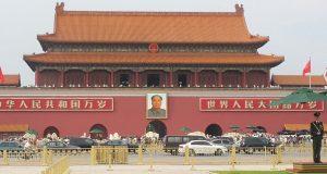 Gambar Mao Zedong di Lapangan Tian Anmen. Foto oleh Uni Z. Lubis